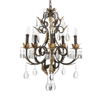 Lite Source Destim 5-Light Chandelier