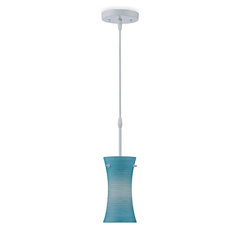 Lite Source Dulce Pendant Lamp in Blue