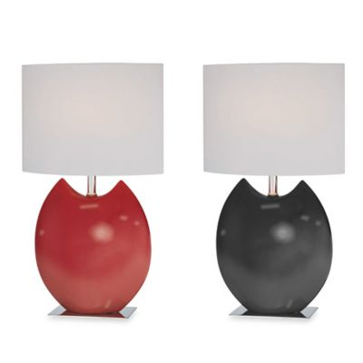 Lite Source Zapios Table Lamp in Black