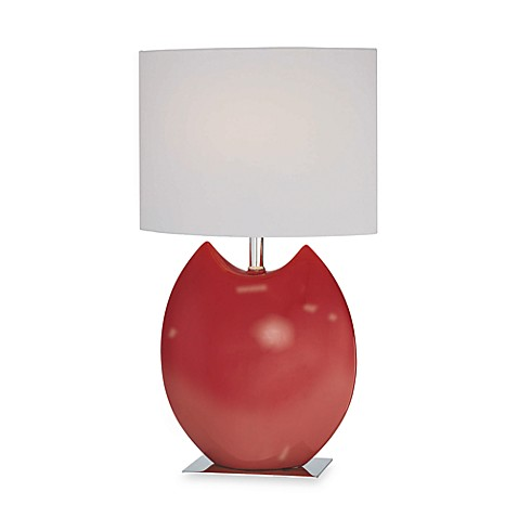 Lite Source Zapios Table Lamp in Red