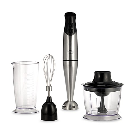 The Sharper Image® Stainless Steel Stick Blender