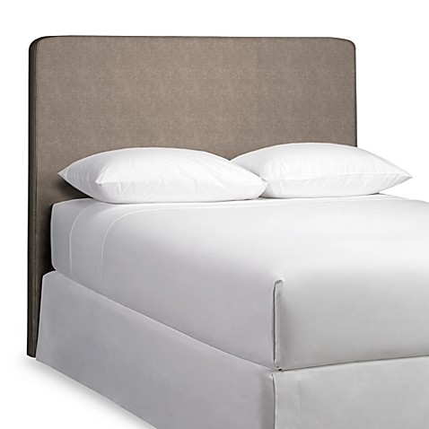 Square Top Full Headboard with Slipcover