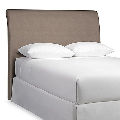 Rollback Top King Headboard with Slipcover