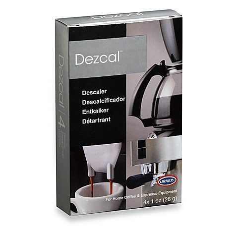 Dezcal™ Descaler for Home 4-Pack Coffee and Espresso Equipment