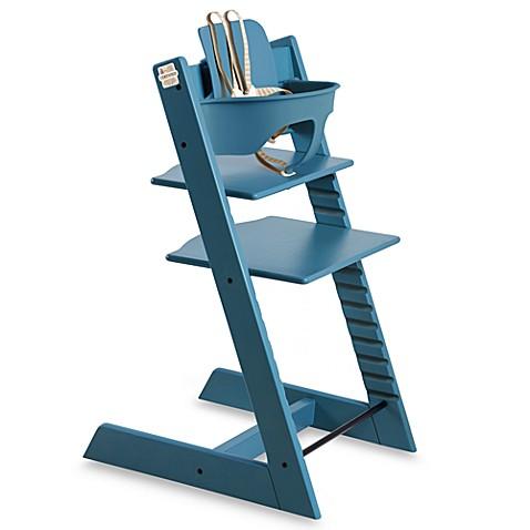 stokke tripp trapp baby set blue buybuy baby. Black Bedroom Furniture Sets. Home Design Ideas