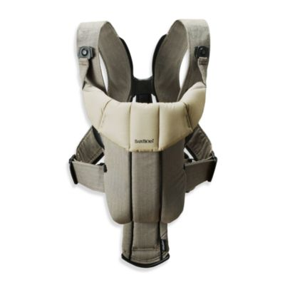 BABYBJORN® Baby Carrier Active in Walnut/KhakiOrganic
