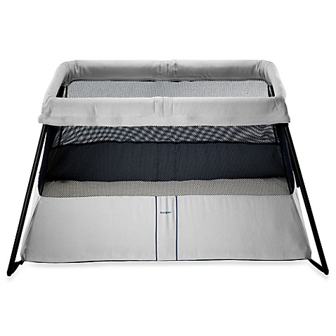 babybjorn travel crib light silver the babybjorn travel crib light is. Black Bedroom Furniture Sets. Home Design Ideas
