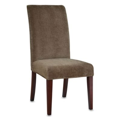 Powell Parsons Chair Olive Green Chenille Slip Over Slipcover