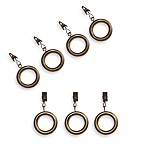 Cambria® Casuals® Clip Rings in Gold (Set of 7)