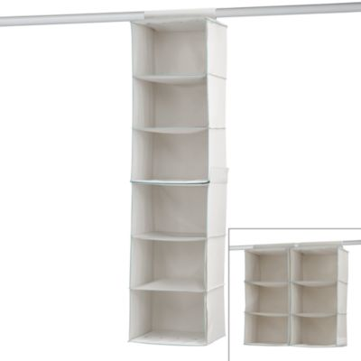 Real Simple® 6-Shelf Sweater Organizer in White