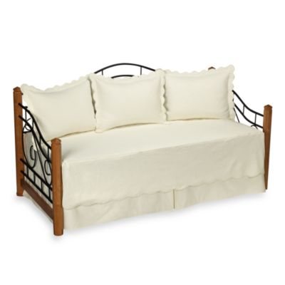 Matelasse Ivory Daybed Bedding Set