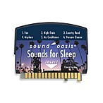 Sound Oasis Sleep Sound Therapy System S550 Sounds for Sleep Sound Card