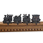Train Stocking Hanger Set