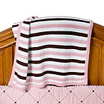 Royal Velvet™ Pink Knit Crib Blanket