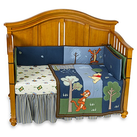 Disney Pooh's Up and Away 4-Piece Crib Bedding by NoJo®