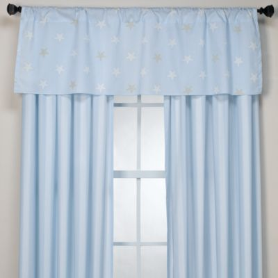 Big Star Blue Valance