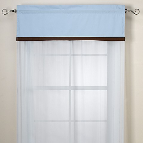 Brandon Blue Valance