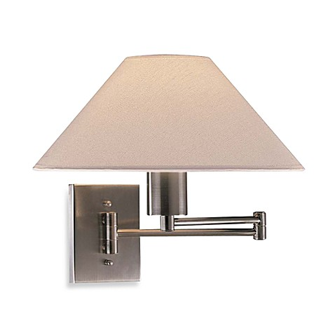 George Kovacs® Swing Arm Wall Lamp in Brushed Nickel
