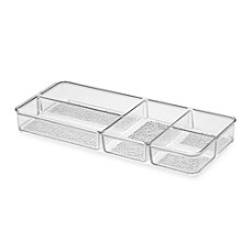 InterDesign® Vanity Organizer!™ Rain Divided Cosmetic Organizer Tray