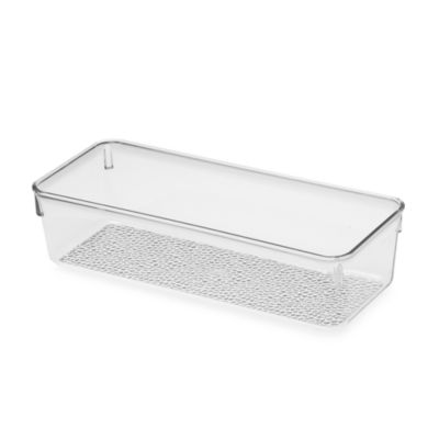 InterDesign® Rain Medium Cosmetic Organizer Bin