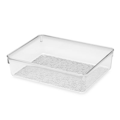 InterDesign® Rain Grand Cosmetic Organizer Bin