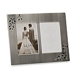 Shimmer Double 4-Inch x 6-Inch Photo Frame