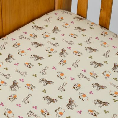 CoCaLo™ Baby Jacana 100% Cotton Fitted Sheet