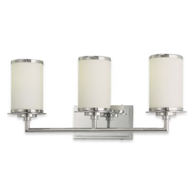 Glass Note Triple Wall Sconce