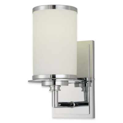 Glass Note Single Wall Sconce