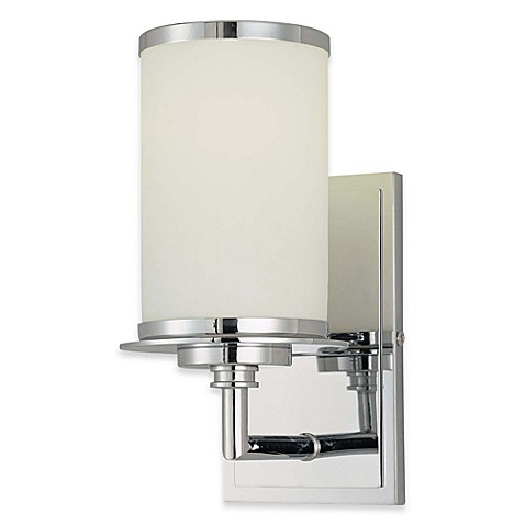 Minka Lavery® Glass Note Single Wall Sconce