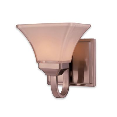 Wall Sconces Bed Bath And Beyond : Buy Minka Lavery Agilis Single Wall Sconce from Bed Bath & Beyond