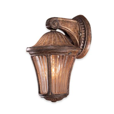 Amarante Gold Outdoor Sconce
