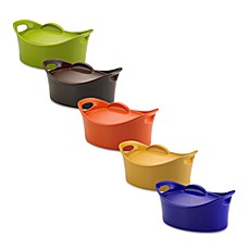 Rachael Ray 4 1/4-Quart Covered Oval Casserole