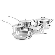 Mauviel M'cook Stainless 9-Piece Cookware Set