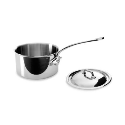 Mauviel M'cook Stainless .9-Quart Saucepan