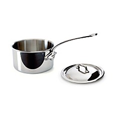 Mauviel M'cook Stainless 1.2-Quart Saucepan