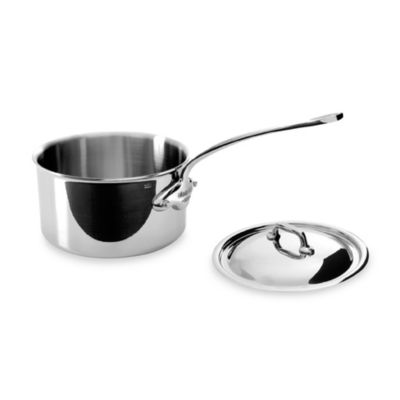 Mauviel M'cook Stainless 1.9-Quart Saucepan