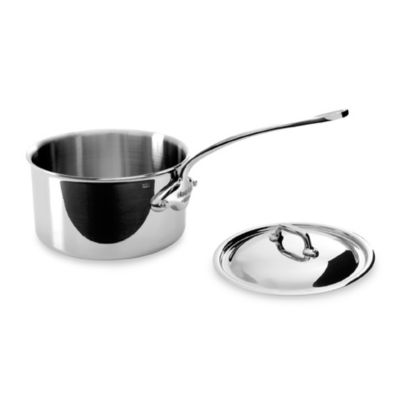 Mauviel M'cook Stainless 2.7-Quart Saucepan