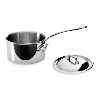 Mauviel M'cook Stainless 3.6-Quart Saucepan