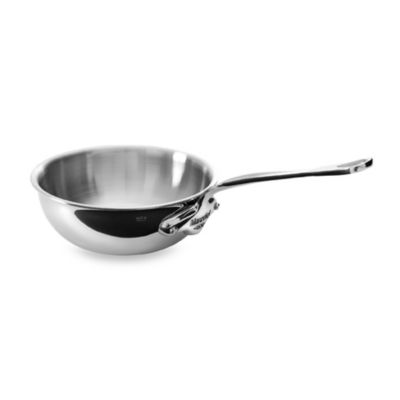 Mauviel 1830 M' Cook Stainless .9-Quart Saute Pan