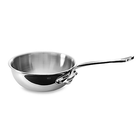 Mauviel 1830 M' Cook Stainless 1.7-Quart Saute Pan