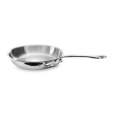 Mauviel 1830 M' Cook Stainless Fry Pan in 10.2-Inch