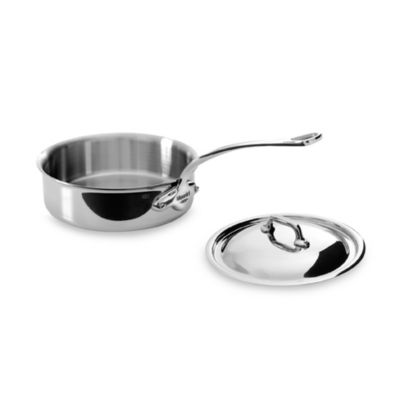 Mauviel M'cook Stainless 1.9-Quart Sautepan