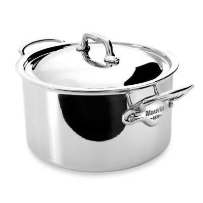 Mauviel M'cook Stainless 9.1-Quart Stewpan