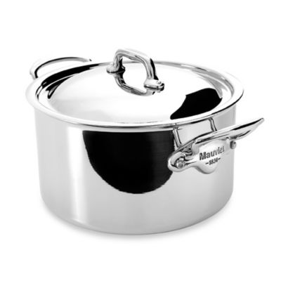 Mauviel M'cook Stainless 6.4-Quart Stewpan