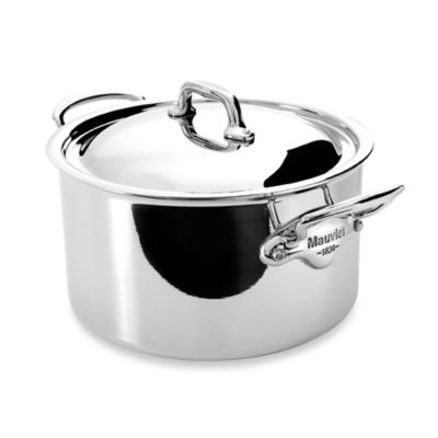 Mauviel M'cook Stainless 3.6-Quart Stewpan