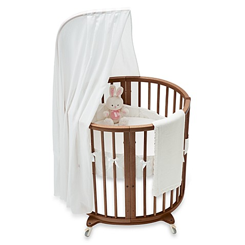 stokke sleepi mini classic white crib bedding set and. Black Bedroom Furniture Sets. Home Design Ideas