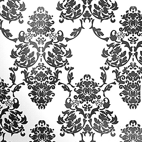 Graham & Brown Suzanne Black and White Wallpaper