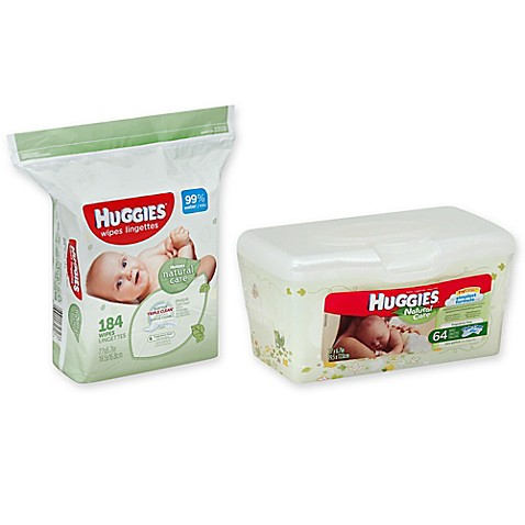 Huggies® Natural Care Unscented Baby Wipes