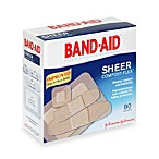 Band-Aid® Assorted Sheer Bandages (80 Count)